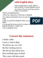 Fun With English Ideas