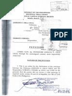Annulment_Petition_Joselito Dela Cruz and Normita Fermin