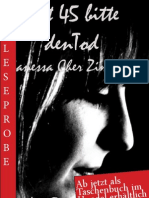 Leseprobe Vanessa Cher Zimmerer - Mit 45 bitte den Tod