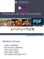 Peopling of the Philippines