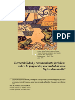 Buriticá, Esteban - Derrotabilidad y Su Supuesta Necesidad