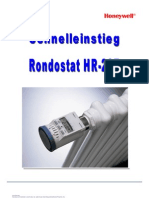 Honeywell HR20 Schnelleinstieg Heizkoerperthermometer Rondostat