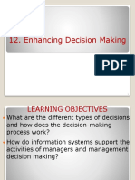 12219 BIS Ppt 12 Decision Making