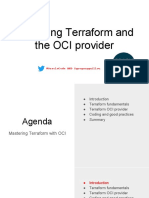 Mastering Terraform and the Provider