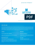 Witsow Branding Corporate Profile