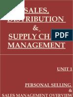 Sales, Distribution & Supply Chain Management.pptx Unit 1