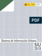 Sistema de Información Urbana - SIU 2018