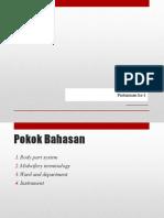 Minggu 1 (Terminology in Clinical Setting).pptx