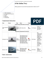 List of Submarines of the Indian Navy - Wikipedia, The Free Encyclopedia