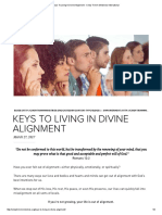 Keys to Living in Divine Alignment - Cindy Trimm Ministries International