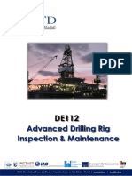 Advanced Drilling Rig Inspection Maintenance