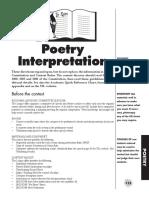 Poetry Interpretation Manual