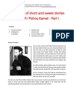 Collection of Short and Sweet Stories About Fr Pishoy Kamel - Part I