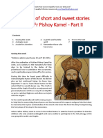 Collection of Short and Sweet Stories About Fr Pishoy Kamel - Part II