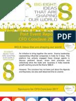 8th CFO Conclave 2017- Post Conclave Report