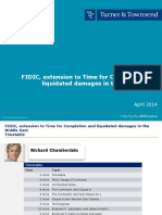 FIDIC Extension of Time for Completion and Liquidated Damages in the Middle East FINAL