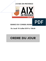 Cm 18 Juillet 2019 Ordre Du Jour