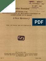 8477 Methods for Determination of Bitumen Content in Laminated Jute Bags