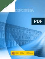 Catalogo Servicios Administracion Digital Version 2018