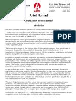 Ariel Nomad Press 080115
