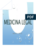 Medicina Legal História Conceito Divisão Perícia Documentos