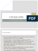 Chapter 7 Chi Squares