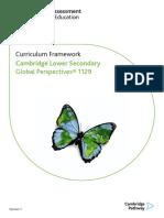 1129 Lower Secondary Global Perspectives Curriculum Framework 2018_v2_tcm143-469223