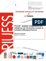 L'Economie sociale et solidaire et le Travail