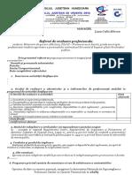 Referat Evaluare Model