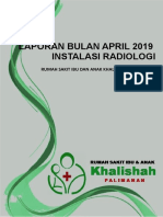 Cover Laporan Bulan April 2019
