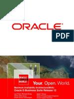 Oracle Maa Best Prac