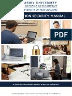 Massey University InfoSec Manual v1_0