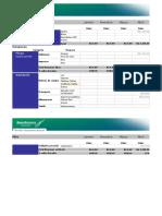 Planilha de planejamento de gastos