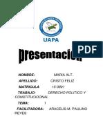 Tarea 1 de Derecho Politico y Constitucional de Maria (1)