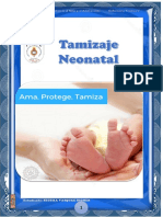 Folleto Tamizaje Neonatal