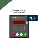 KP310 Operation Manual