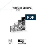 ACUERDO MUNICIPAL ITAGUI AÑO 2013
