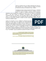 Direito de Resposta Acerca de Matéria Publicada Pelo Portal AZ
