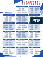 Calendrier National 1 saison 2019-2020