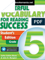Topnotchenglish for Reading Success Student 39 s Edition Powerful Vocabulary 5