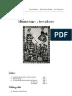 Minnesanger