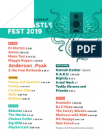Forecastle Lineup Saturday 2019