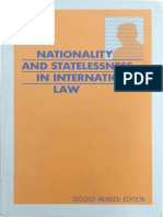 Nationality and Statelessness in International Law (Paul Weis)