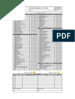 Check List Inspeccion de Herramientas-EPP-equipos