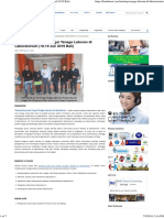 Training Peran & Fungsi Laboran Di Lab (18-19 Juli 2019 Bali)