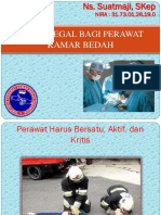 ASPEK LEGAL BAGI PERAWAT KAMAR BEDAH MADIUN 2017.ppt