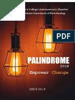 Palindrome Magazine