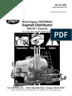 Manual de Operacion y Mantencion Imprimador ETNYRE