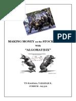 Making Money on the Stock Market with AlgoMat®ix_HL..!