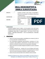 Memoria Descriptiva - Villa Costa Sur
